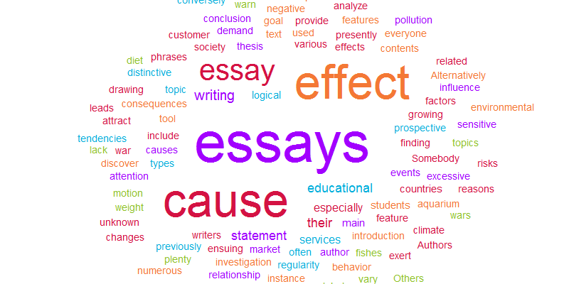 How to write a good cause and effect essay photo